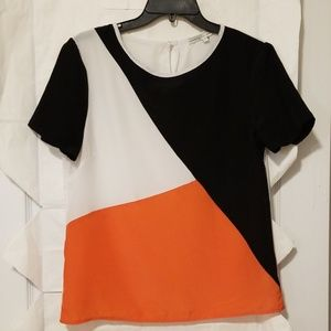 Search for Sanity, sz S, short sleeved top, EUC